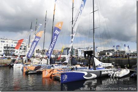 Volvo Ocean Race  Galway dock