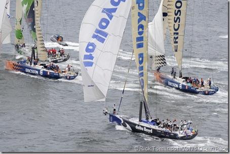 © Rick Tomlinson/Volvo Ocean Race
