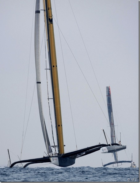 AC BMW Oracle vs Alinghi 5