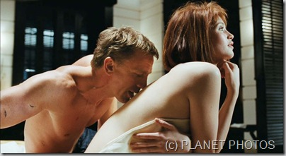 Bond movie Quantum of Solace SEX PLANET PHOTOS