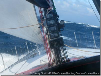 PUMA Ocean Racing on leg 4