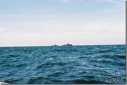 rusu karo laivai