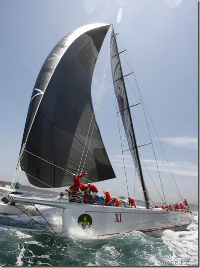 Australian supermaxi yacht Wild Oats XI a REUTERS