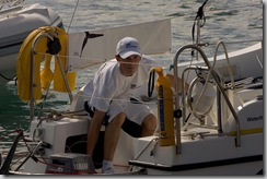 Michael Perham the youngest person ever to sail single handed accross the Atlantic TopFoto_6