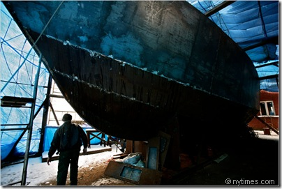 homeles yacht