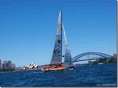 Ambersail Sidnejuje