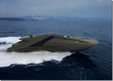 Lamborghini poweryacht
