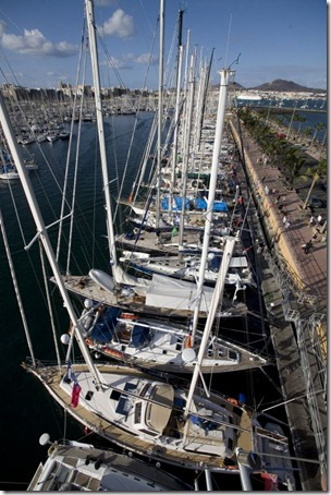 ARC 2007 - Las Palmas Marina Photo Richard Langdon - Ocean Images World Cruising Club